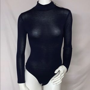 BOOHOO Turtle Neck Long Sleeve Bodysuit